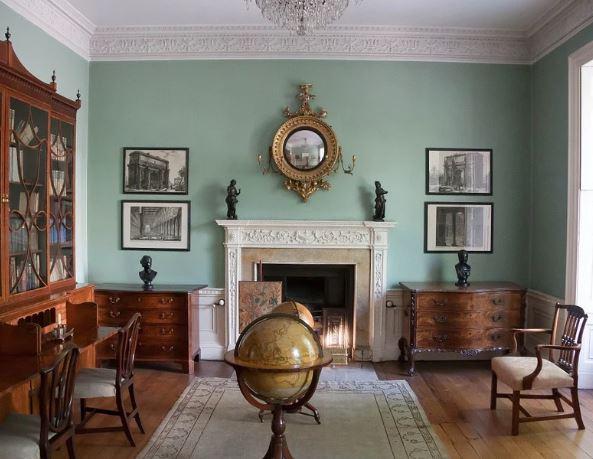 georgian cottage interior