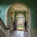 georgian hallway interior